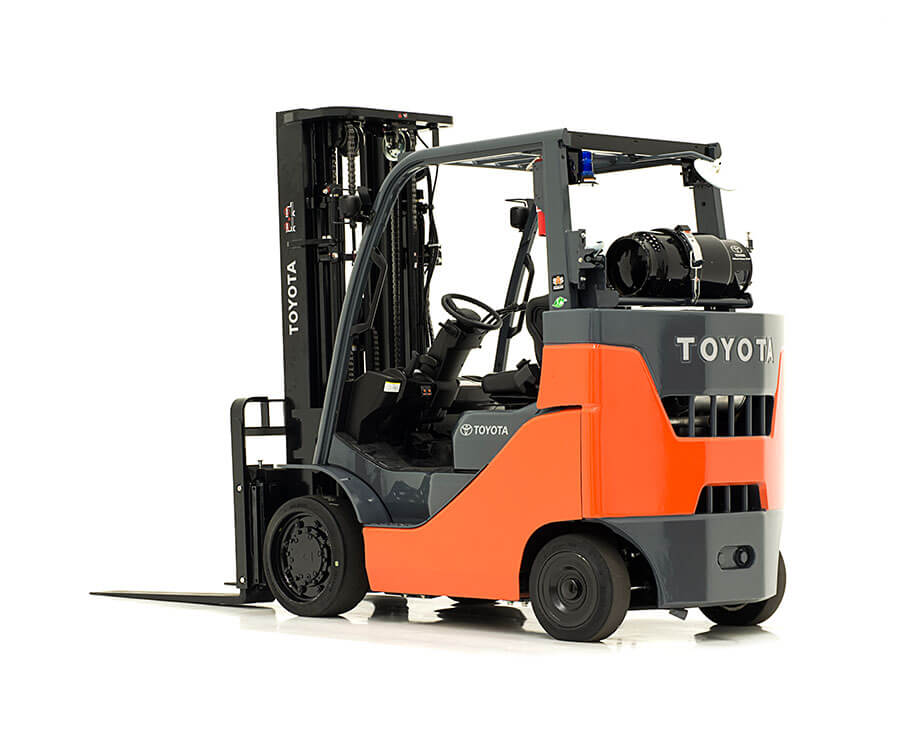 Compartment Of A Fork Lift : Toyota box car special forklift w d matthews machinery co